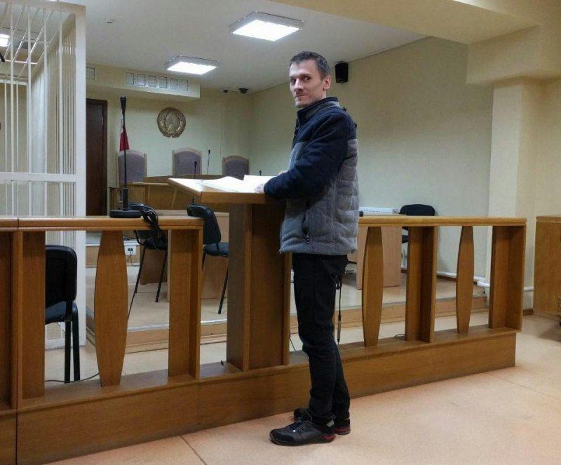 Мікалай Дзядок у судзе 20 сакавіка