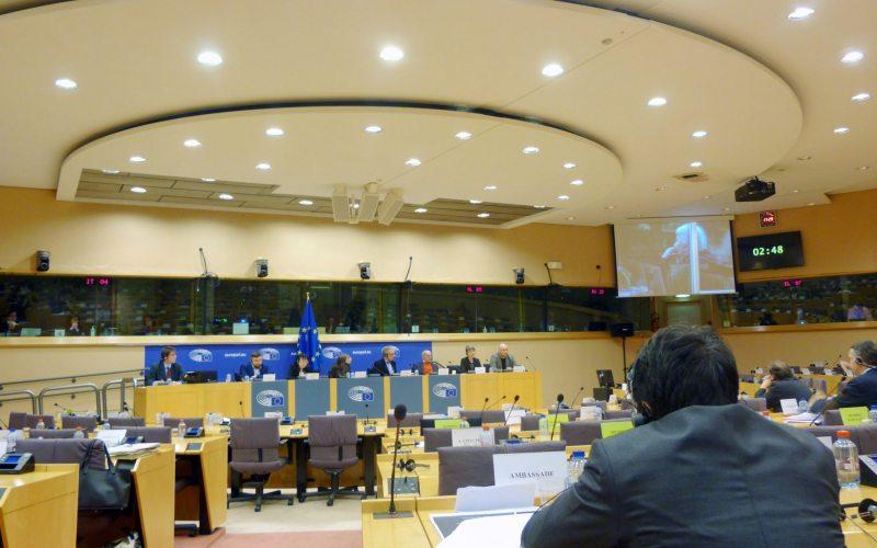 Дискуссия по Беларуси в Европарламенте. Брюссель, 6 февраля 2017