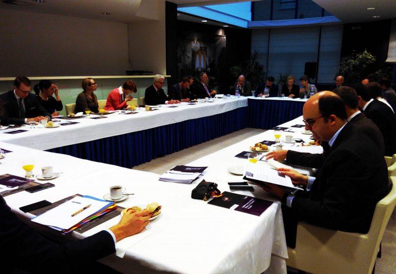 Встреча с послами стран ЕС. Брюссель, 7 февраля 2017