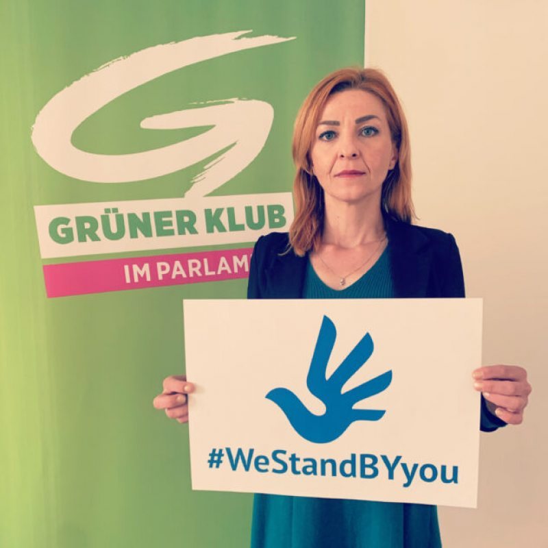 Ewa Ernst-Dziedzic, spokesperson for foreign policy of the Green parliamentary group in the Austrian National Council