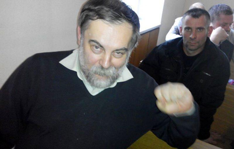 Валер Фамінскі ў судзе. Фота: Уладзімір Вялічкін.