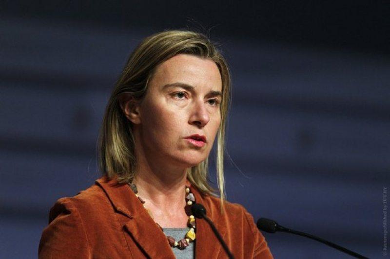 Верховный представитель ЕС по иностранным делам и политике безопасности Федерика Могерини. Фото: Reuters