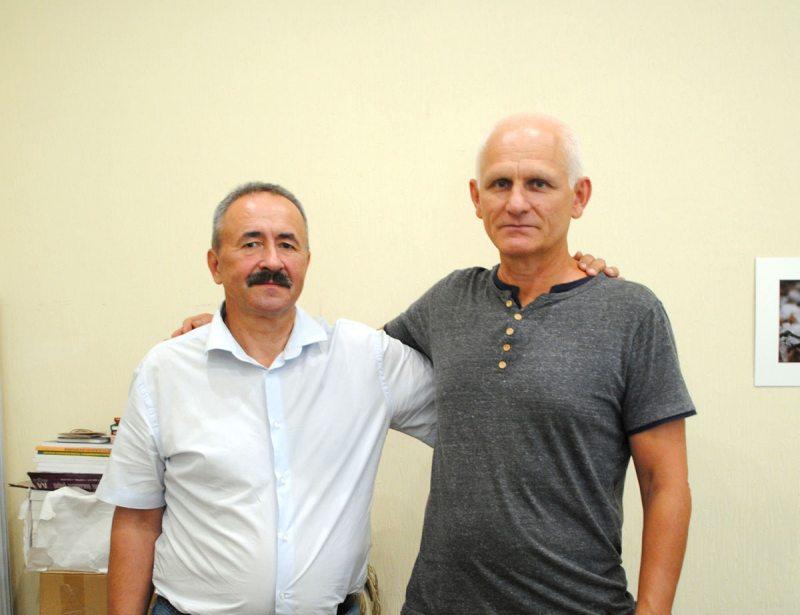 Генадзь Фядыніч і Алесь Бяляцкі