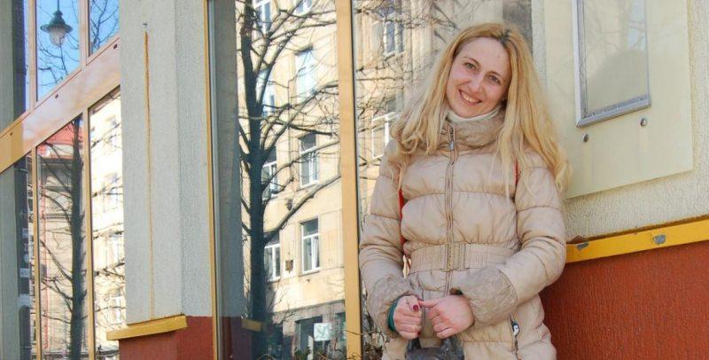 Вольга Філатчанкова. Фота з фэйсбука