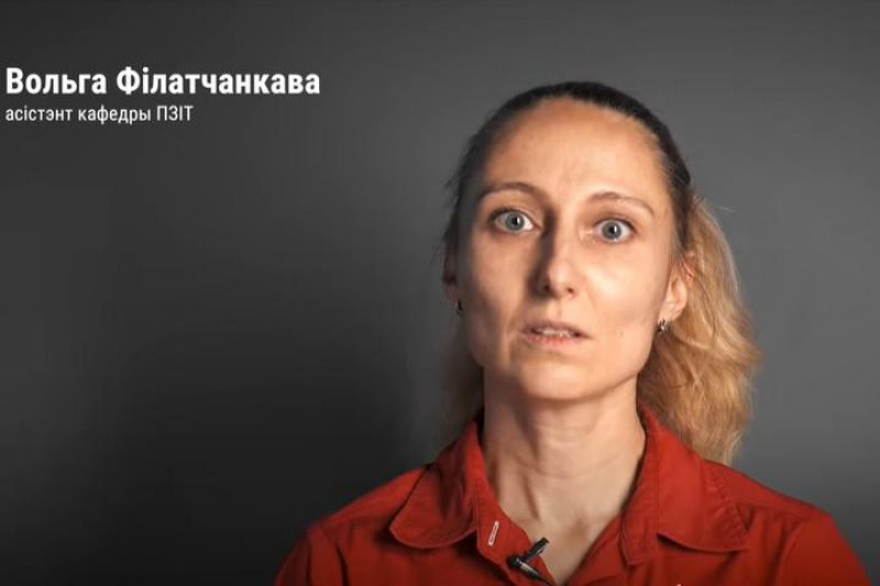 Вольга Філатчанкова. Скрин с видеообращения