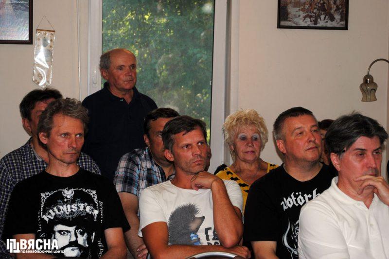 Участники дискуссии после премьеры фильма