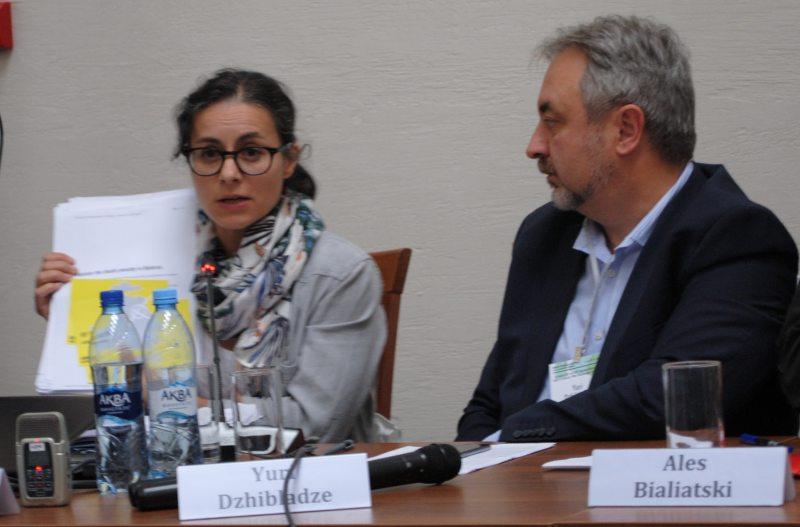 Прадстаўніца Amnesty International Айша Юнг