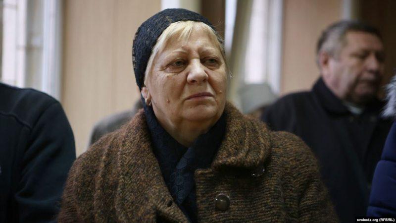 Галіна Шаравар. Фота Радыё Свабода