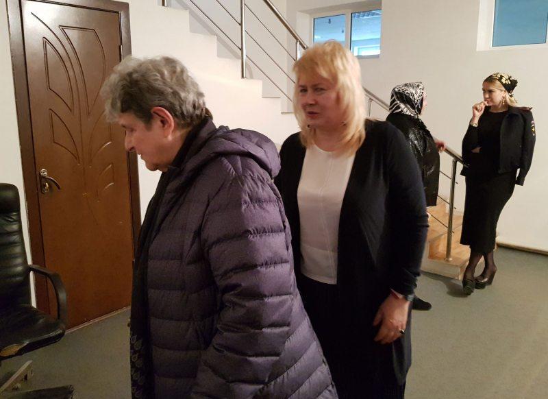 Святлана Ганнушкіна і Марына Дубровіна