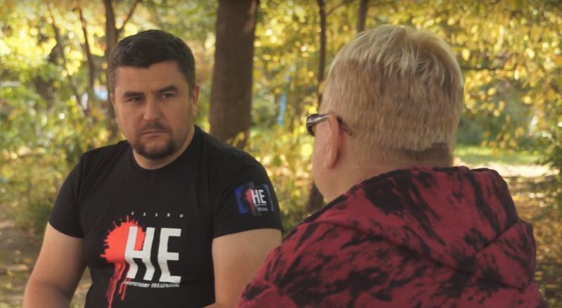 Праваабаронца Андрэй Палуда і маці асуджанага да смяротнага пакарання Ігара Гершанкова
