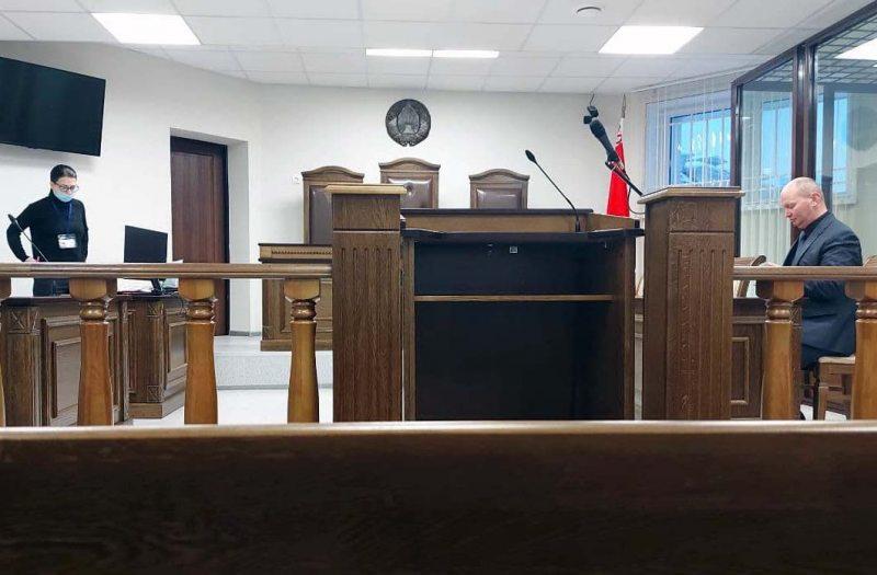 Судебное заседание по рассмотрению дела Глазырина