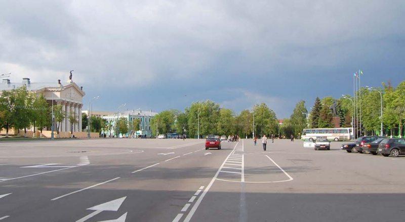 Площадь Ленина, Гомель