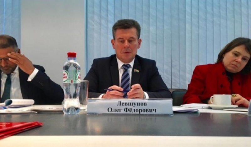 Депутат Олег Левшунов. Фото: Leanid Sudalenka