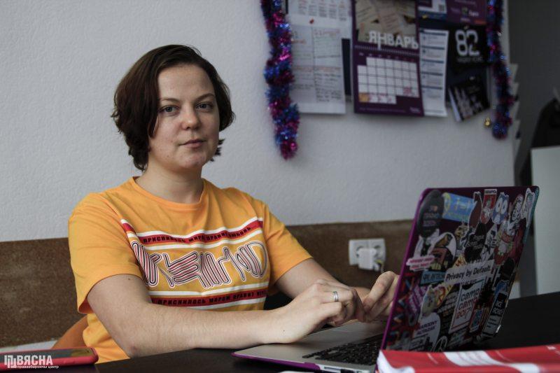Яна Гончарова, координаторка проекта