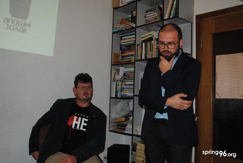 Андрей Хаданович и Андрей Будкин. Фото: ПЦ