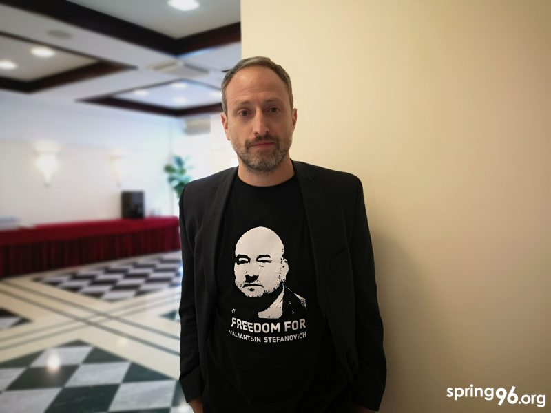 Ilya Nuzov, Head of Eastern Europe and Central Asia Desk at the International Federation for Human Rights (FIDH)
