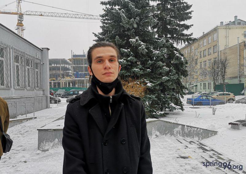 Іван Зубко пасля вынясення прысуду