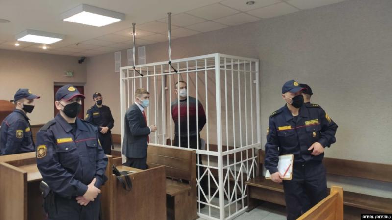 Александр Троцкий в суде. Фото: