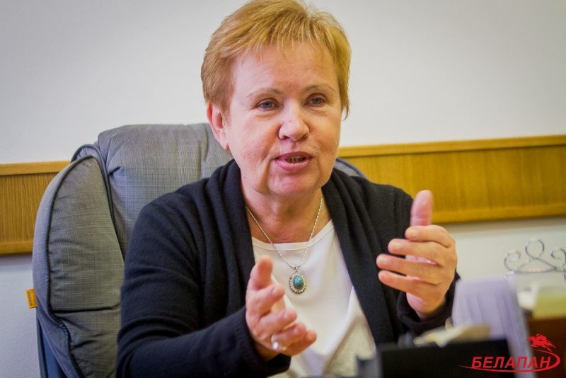 Lidziya Yarmoshyna, chair of the Central Election Commission. Photo: naviny.by