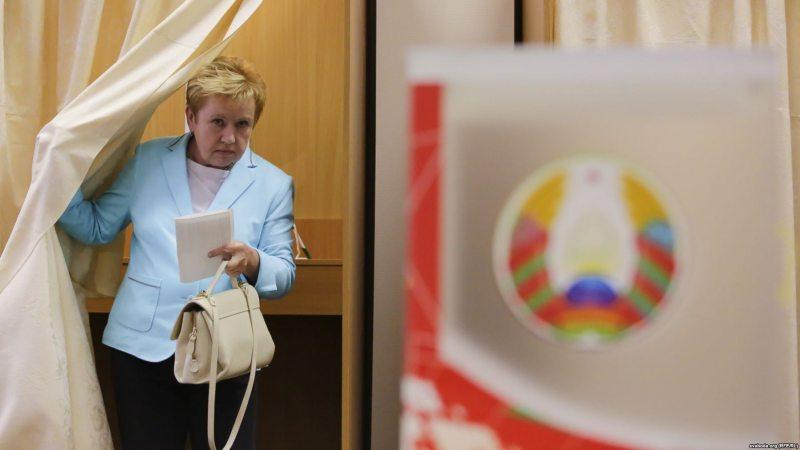 Кіраўніца ЦВК Лідзія Ярмошына. Фота: svaboda.org