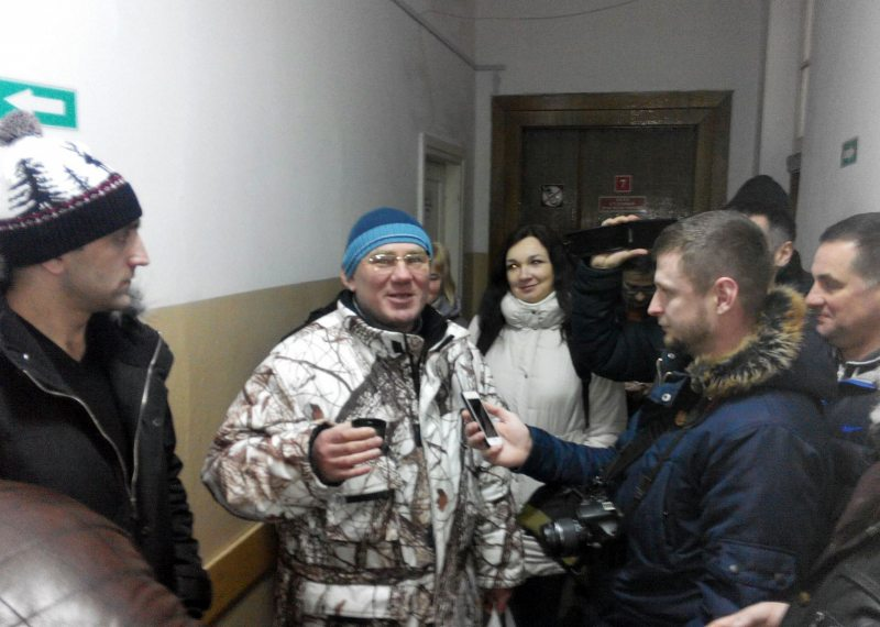 Сяргей Пятрухін і Аляксандр Кабанаў. Фота Уладзіміра Вялічкіна.