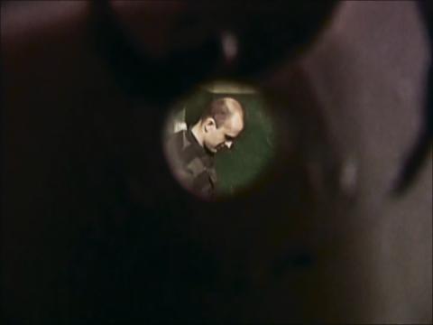 Глазок в камере смертников на Володарке.