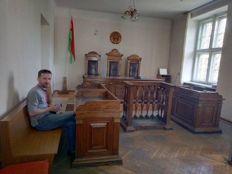Ягор Кандрацюк у судзе