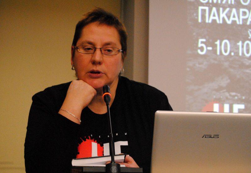 Исследователь и журналист Полина Степаненко.