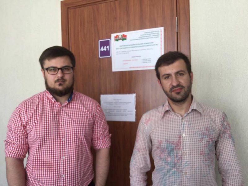 Павел Стэфановіч і Зміцерам Кавалгін
