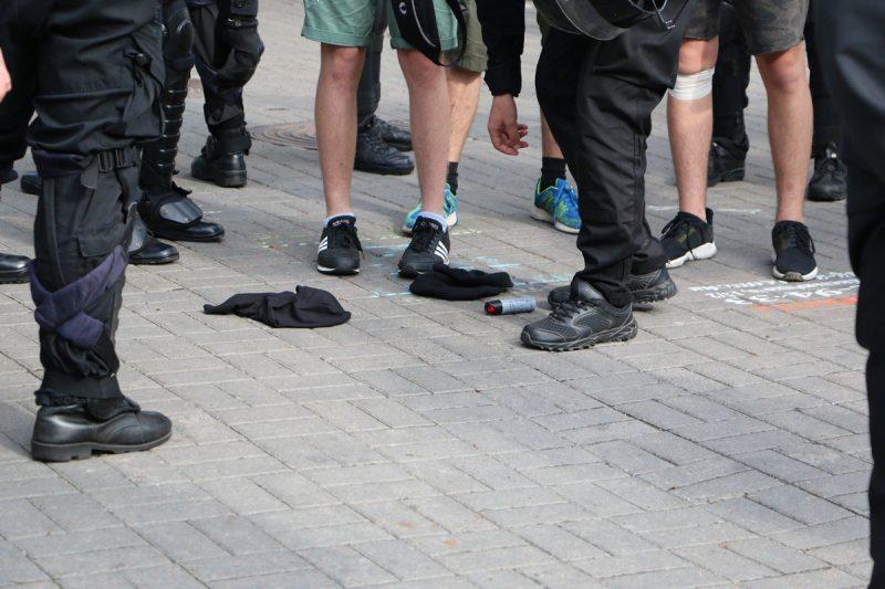 Действия полиции во время «Марша равенства» в Киеве 18 июня. Фото ПЦ