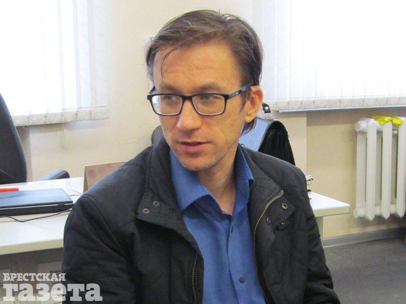 Праваабаронца Раман Кісляк. Фота: Брестская газета