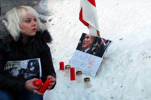 Вольга Класкоўская ў 2011 годзе. Фота: асабістая старонка на Facebook