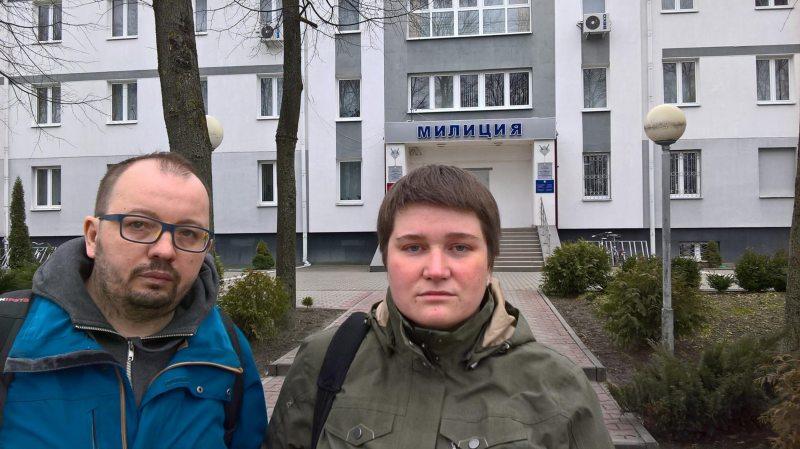 Алесь Ляўчук і Мілана Харытонава