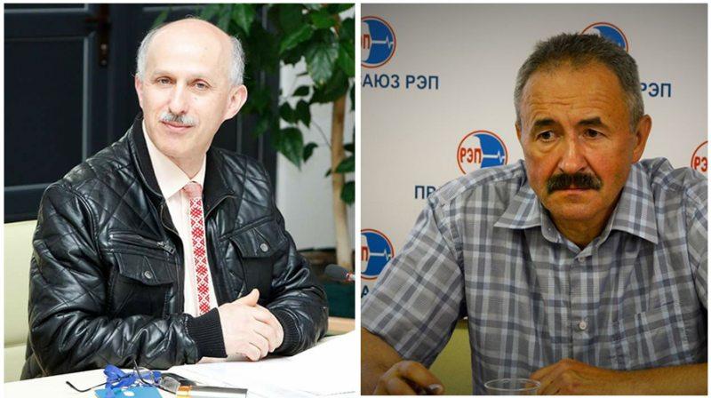 Ihar Komlik and Henadz Fiadynich