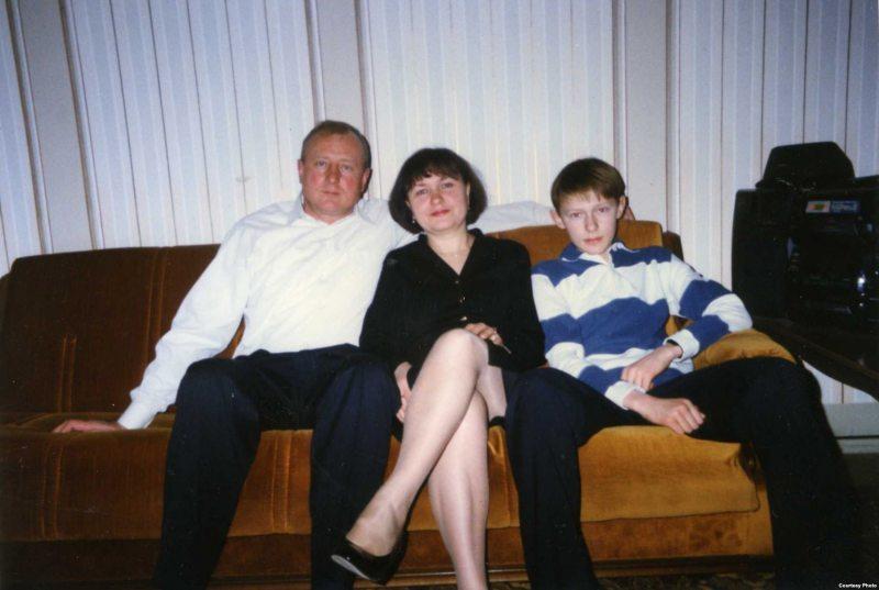 Сям'я Кучураў, архіўнае фота / svaboda.org