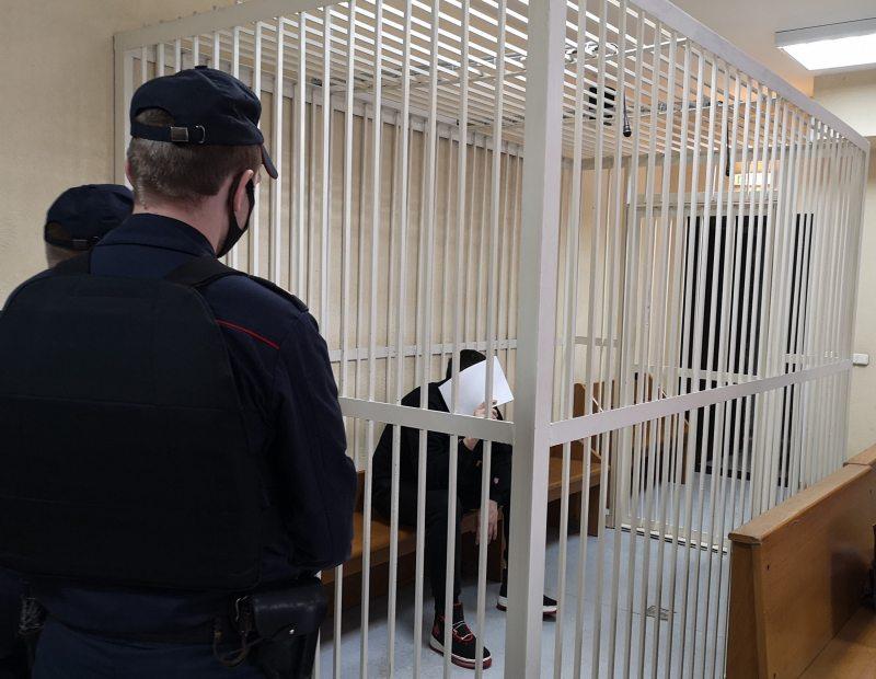 Дмитрий Кулаковсский перед судебным заседанием. Фото: spring96.org