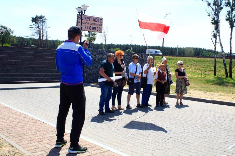Шестой день защиты Куропат. Фото: ПЦ