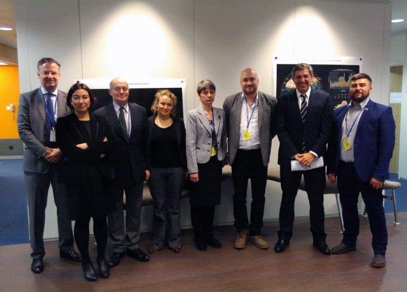 Встреча со Ставросом Ламбринидисом. Брюссель, 7 февраля 2017