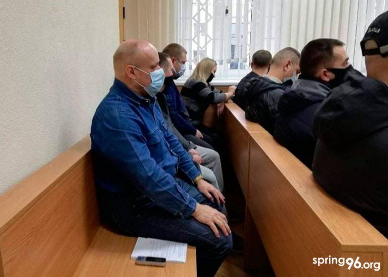 Суд над Яўгенам Лапам