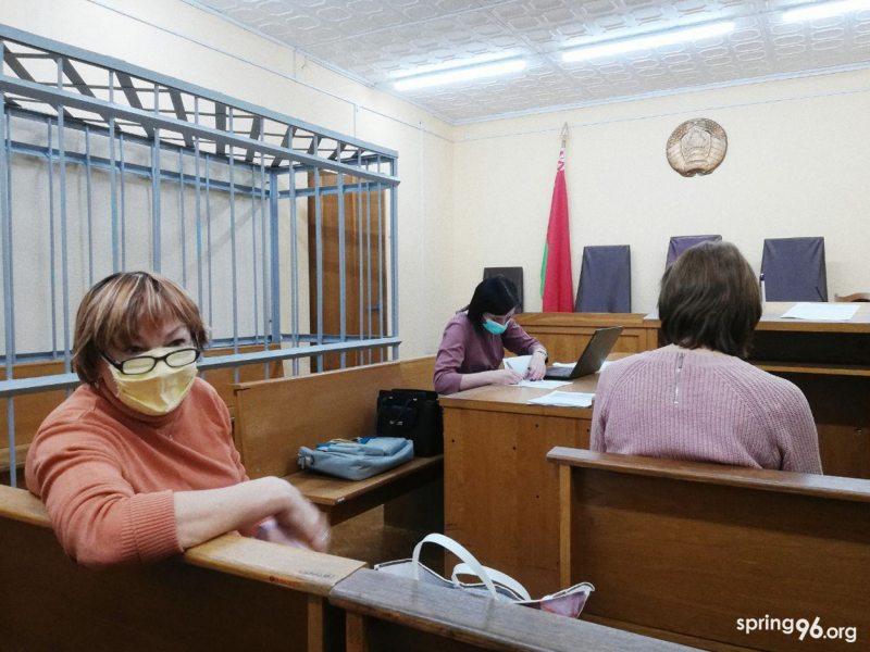 Активистка Галина Логацкая — родная сестра обвиняемой Ларисы Тонкашкур. Фото: spring96.org