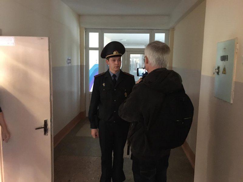 Артем Лява и милиционер