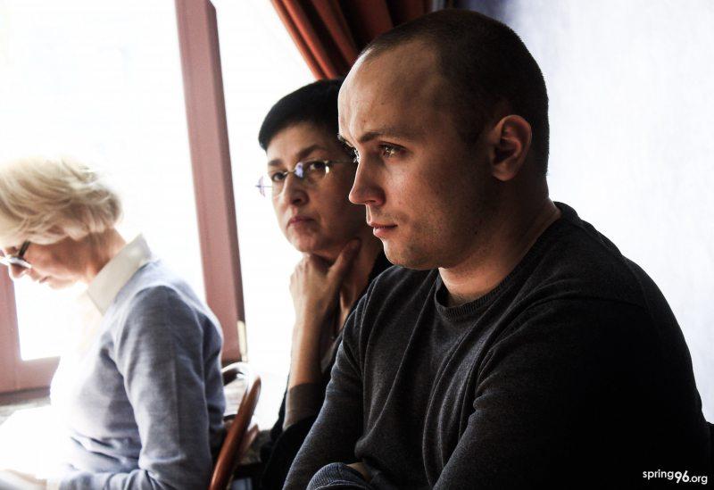 Аляксей Лойка. Фота: spring96.org
