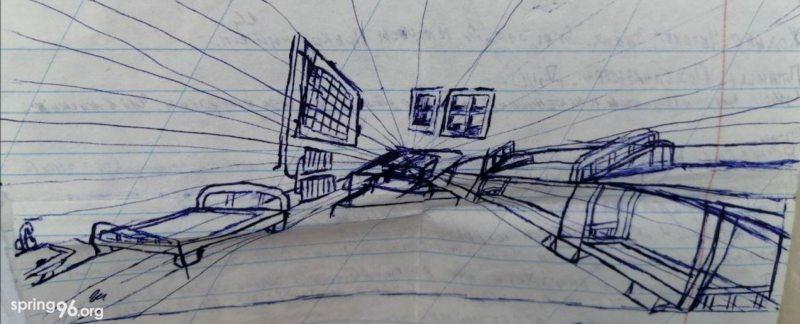 Малюнак Марыі. ІЧУ Жодзіна, студзень-люты 2021