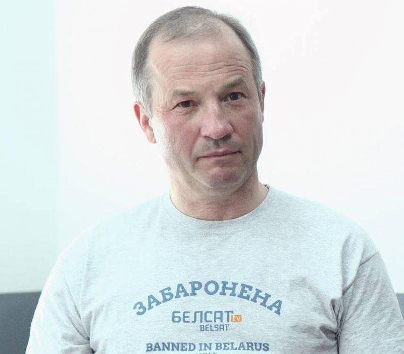 Алесь Марчанка. Фота з Facebook