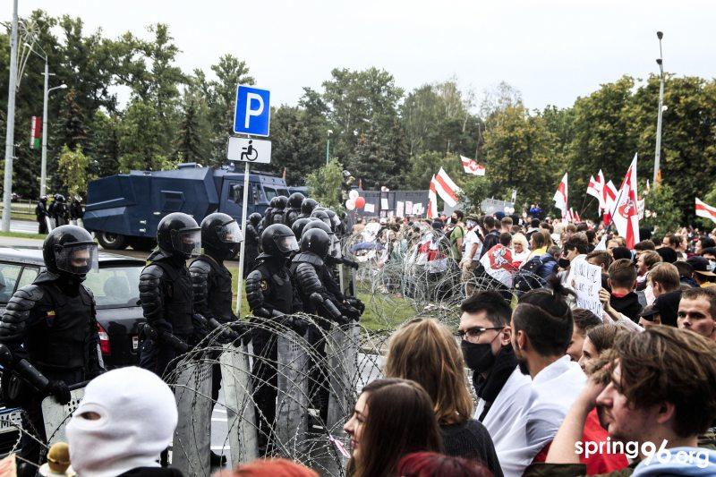 Марш Единства, Минск, 6 сентября 2020. Фото: spring96.org