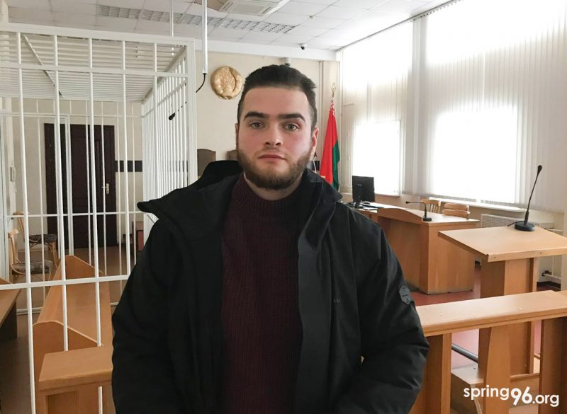 Олег Мозгов в суде 28 января. Фото: spring96.org