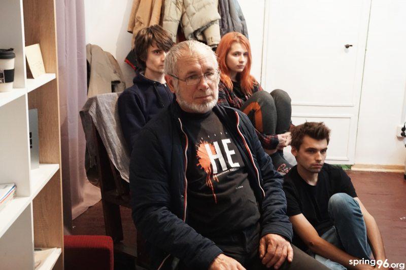 Праваабаронца Уладзімір Целяпун