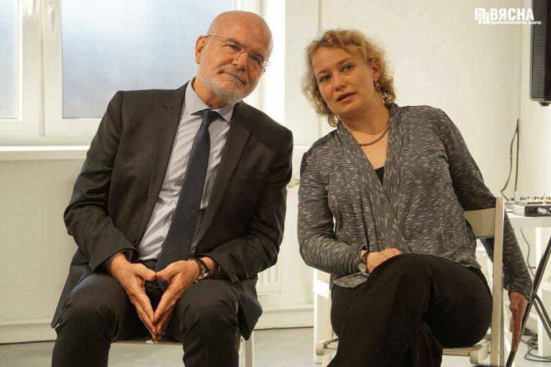 Мишель Форст и Саша Кулаева