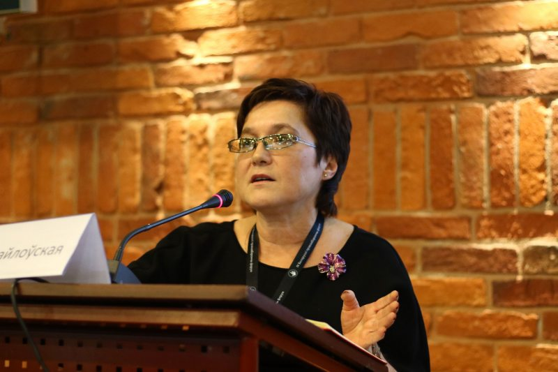 Раіса Міхайлоўская, старшыня Беларускага дакументацыйнага цэнтра