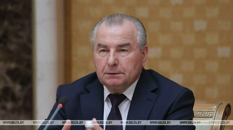 Петр Миклашевич. Фото: БелТА.